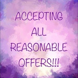🌟ACCEPTING ALL REASONABLE OFFERS!!!!🌟